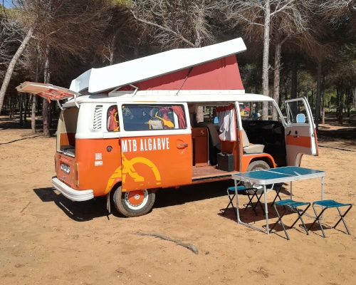 "Campervan VW T2 ""Fresh Orange"""