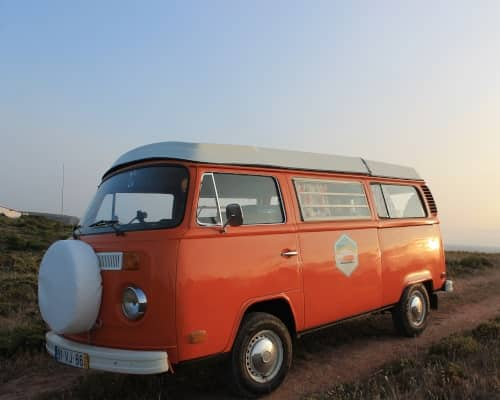 "Campervan VW T2 ""Pumpkin"""